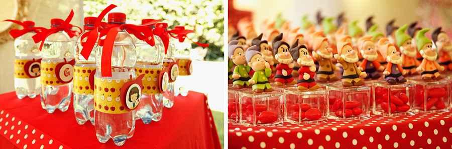 Πάρτυ Χιονάτη για τα γενέθλια της μικρής σας!
