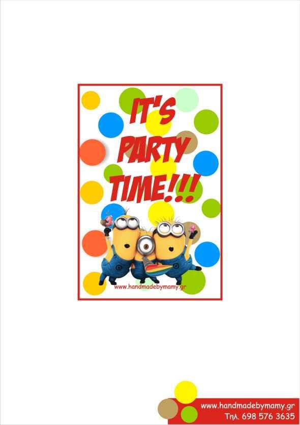 Θεματικό πάρτι Minions