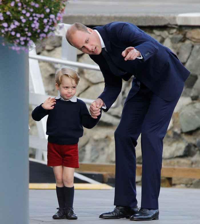 Το γνωρίζατε; Γιατί ο πρίγκιπας Τζορτζ φοράει πάντα σορτσάκια; Υπάρχει λόγος...
