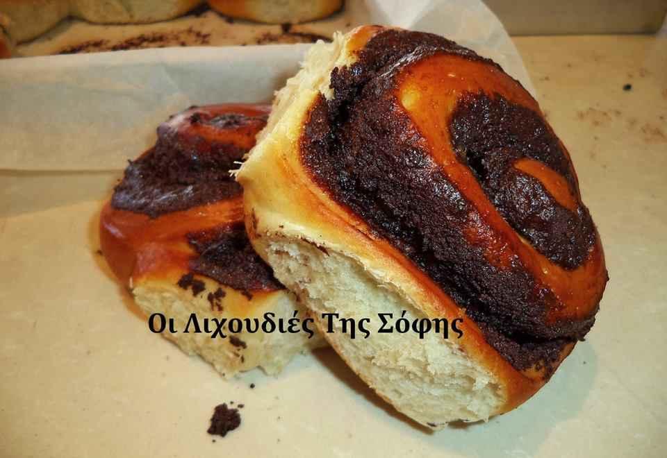 Aφράτα και αέρινα ρολάκια με γέμιση (σοκολάτα, κανέλα,μαρμελάδα) από την Σόφη Τσιώπου!