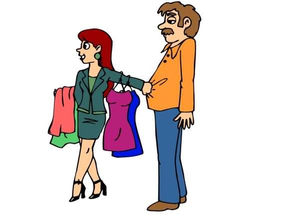 Ανέκδοτο: Ένας άντρας και μία γυναίκα ψωνίζουν.