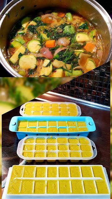 Πως να φτιάξετε σπιτικούς κύβους λαχανικών;