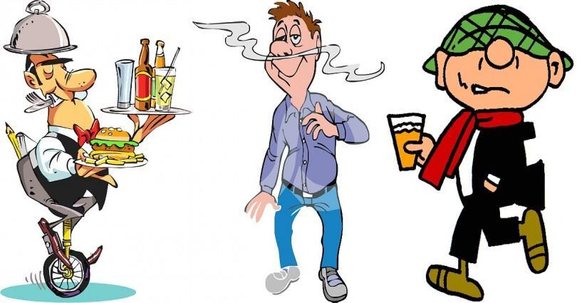 Ανέκδοτο: Το γκαρσόνι, ο περίεργος, και ο μεθυσμένος…  