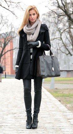 Μαύρο Παλτό: Πως να το φορέσεις φέτος το χειμώνα.