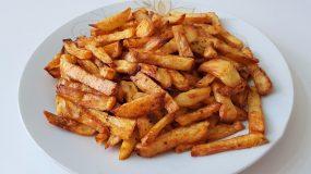 Οι πιο νόστιμες και τραγανές πατάτες τηγανιτές στον φούρνο για μικρούς και μεγάλους!