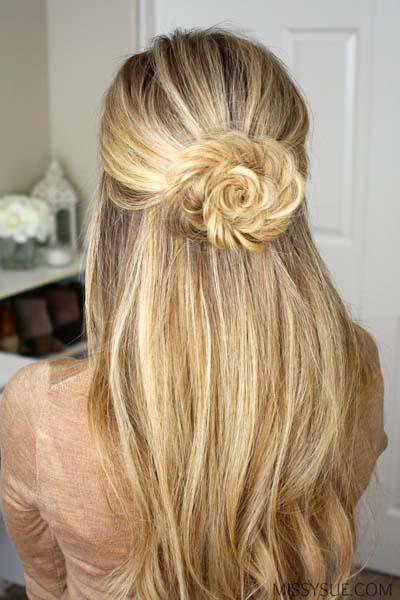 Εντυπωσιακά χτενίσματα μισά πάνω μισά κάτω για μακριά μαλλιά και όχι μόνο...