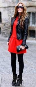 Πως να φορέσεις το δερμάτινο μπουφάν φέτος το χειμώνα και να εντυπωσιάσεις!