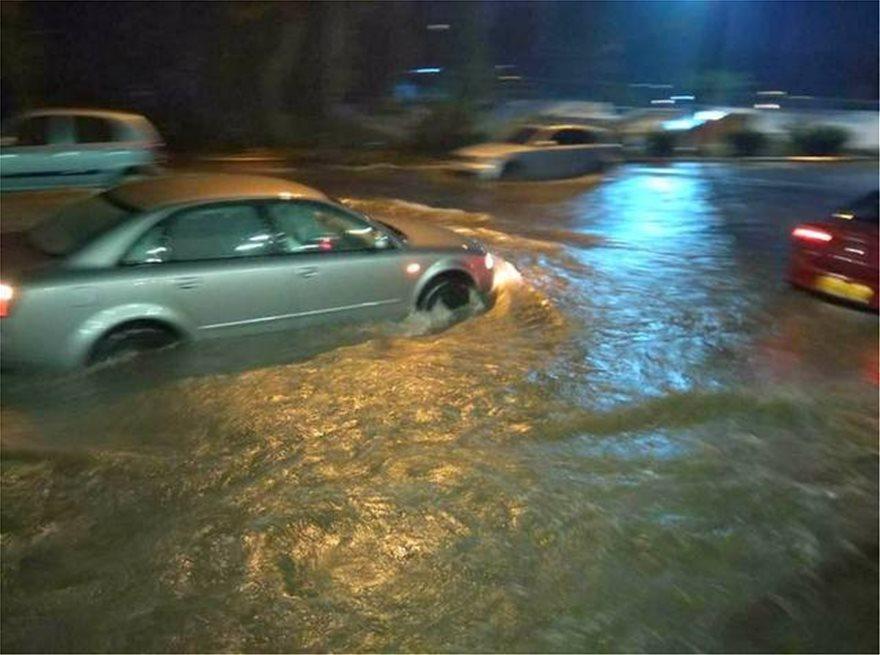 Ο κυκλώνας «Ζορμπάς» «έπνιξε» και την Εύβοια - Μεγάλες καταστροφές σε Κορινθία, Αργολίδα