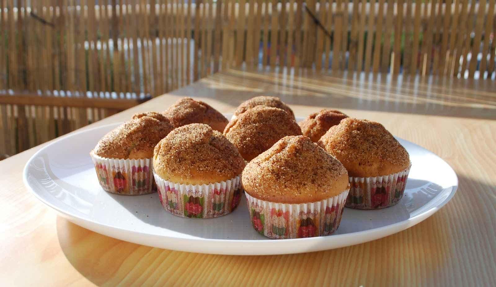 Muffins λουκουμάδες για το παιδικό πάρτι!