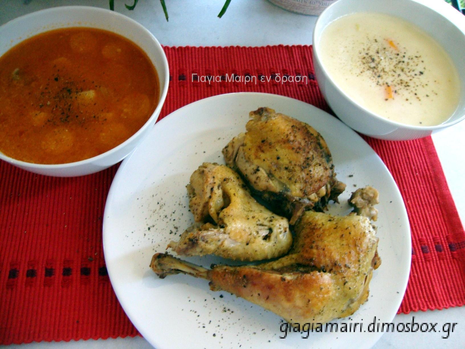 Συνταγή για παιδιά: Φανταστική Κοτόσουπα σε δυο γεύσεις!