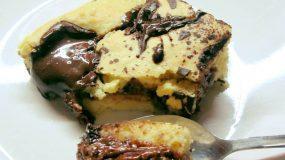 Cookies ταψιού με γέμιση μερέντας για κέρασμα !!!