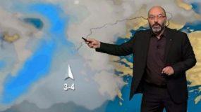 Η προειδοποίηση του Σάκη Αρναούτογλου για την κλιματική αλλαγή και ο καιρός της εβδομάδας