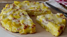 Πατάτες με ζαμπόν στο φούρνο, ένα γευστικότατο πιάτο.