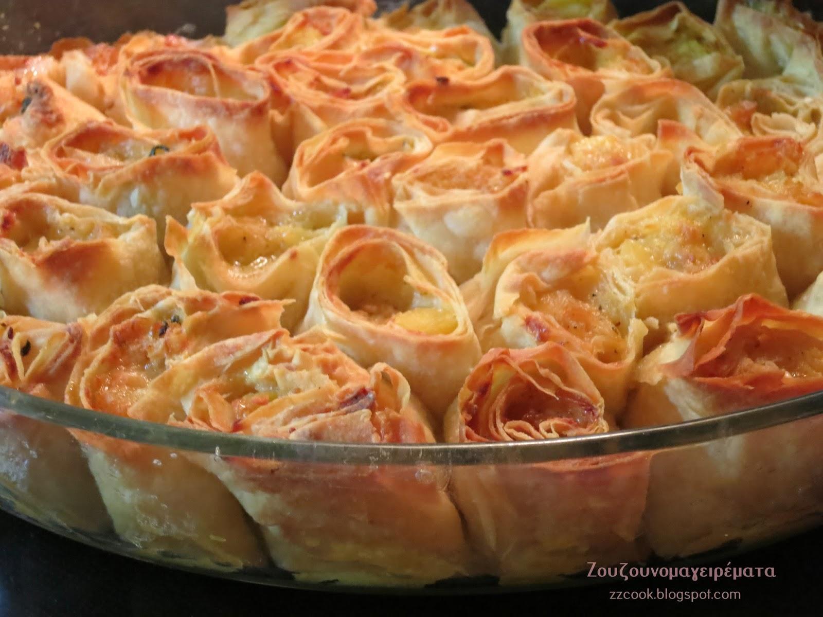 Τραγανές μπουκιές με νόστιμη γέμιση πατάτας και τυριών για μπουφέ και οχι μόνο !