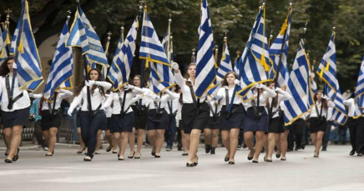 Γιατί η Ελλάδα είναι η μοναδική χώρα στον κόσμο που γιορτάζει την αρχή ενός πολέμου και όχι το τέλος του