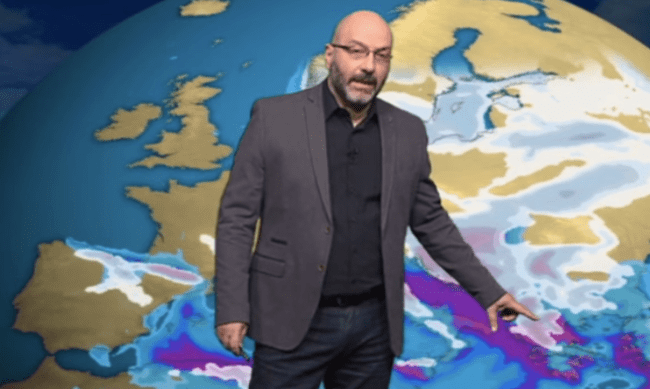 Σάκης Αρναούτογλου:  Η αναλογική εκτίμηση του για τον καιρό του Νοεμβρίου και η ευχή του να πέσει έξω