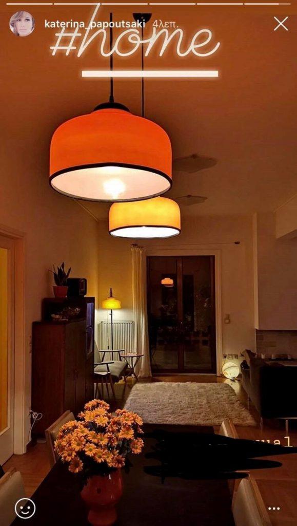 Η eclectic διακόσμηση στο σπίτι της Κατερίνας Παπουτσάκη στηρίζεται σε πανέμορφα vintage κομμάτια!