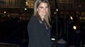 Αθηνά Ωνάση: Λαμπερή αλλά αμήχανη στον γάμο της κόρης του Mr Zara (εικόνες)