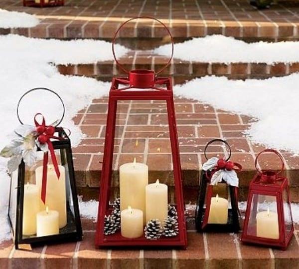 Υπέροχες ιδέες με φαναράκια που θα φωτίσουν τα Χριστούγεννα σας
