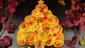Χριστουγεννιάτικο αλμυρό δέντρο