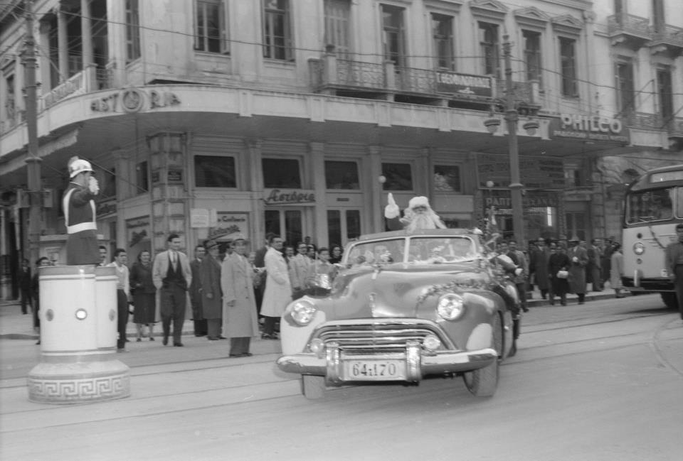 Πως ήταν η Χριστουγεννιάτικη Αθήνα πριν από 55 χρόνια; Υπέροχες φωτογραφίες!