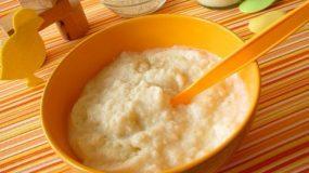 Σπιτικές βρεφικές κρέμες (ρυζάλευρο & κρέμα δημητριακών)