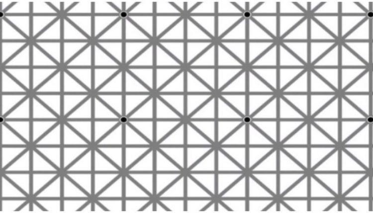 Αυτή η φωτό έχει 12 μαύρες τελείες, αλλά δεν τις βλέπετε ταυτόχρονα. Γιατί; Η εξήγηση σε 6 οφθαλμαπάτες