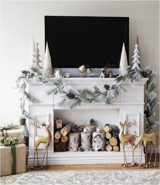Διακοσμήστε το σπίτι σας μαγικά με χιονισμένες ιδέες Χριστουγεννιάτικης διακόσμησης