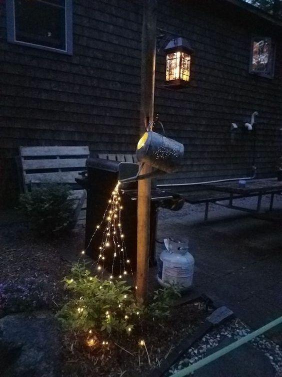 Ονειρεμένη νεράιδοδιακόσμηση με φωτάκια για όλες τις εποχές και τα Χριστούγεννα