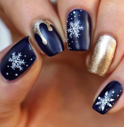 38+2 εντυπωσιακά σχέδια στα νύχια για το Δεκέμβριο