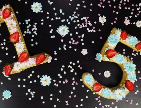 Εύκολη τούρτα με αριθμούς για πάρτι γενεθλίων