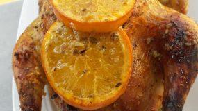Κοτόπουλο γεμιστό με μπασματι για το γιορτινό τραπέζι!