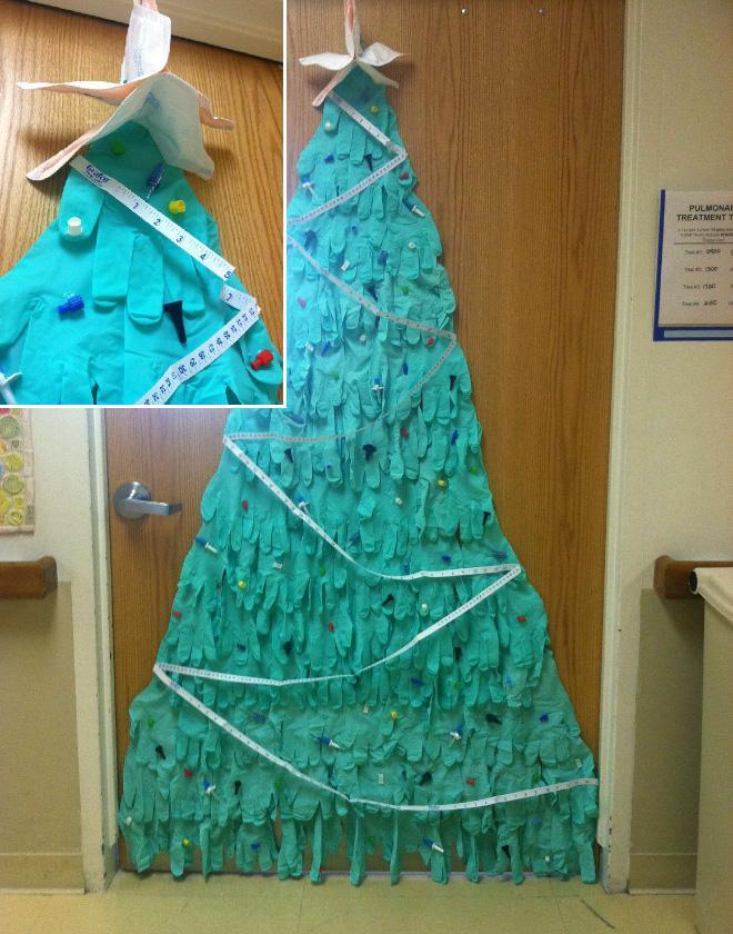 Οι πιο εκπληκτικές χριστουγεννιάτικες διακοσμήσεις σε νοσοκομεία