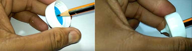 Τρικ Για Να Μετατρέψουμε Απλά Πλαστικά Καπάκια Σε Καπάκια Με Μύτες Για Διάφορες Χρήσεις! Οδηγίες - Βίντεο