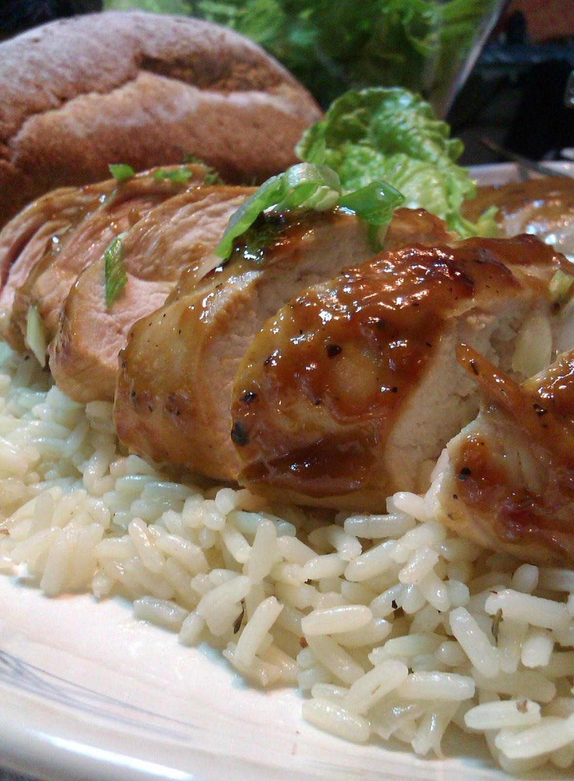 Κοτόπουλο Μαριναρισμένο με Βαλσάμικο & Μέλι - Chicken Marinated with Balsamic Vinegar & Honey