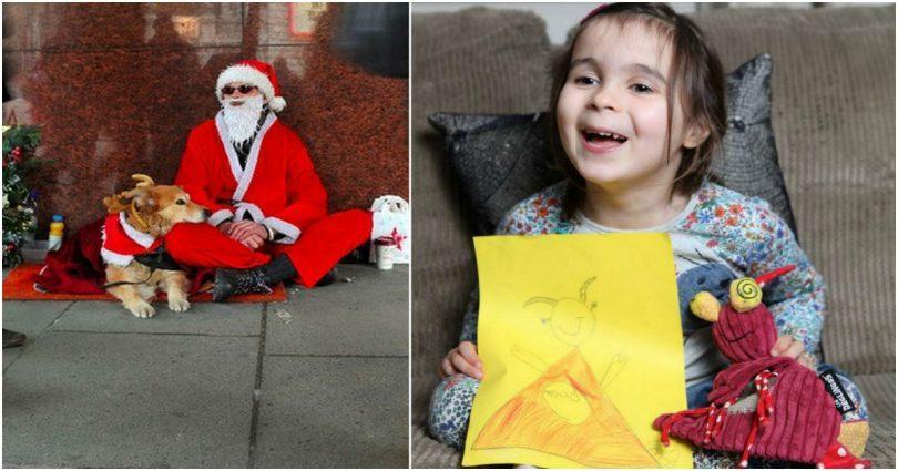 Μπράβο Κοριτσάκι μου! Μάζεψε Χρήματα με τις ζωγραφιές της για να δώσει φαγητό τα Χριστούγεννα στους άστεγους...