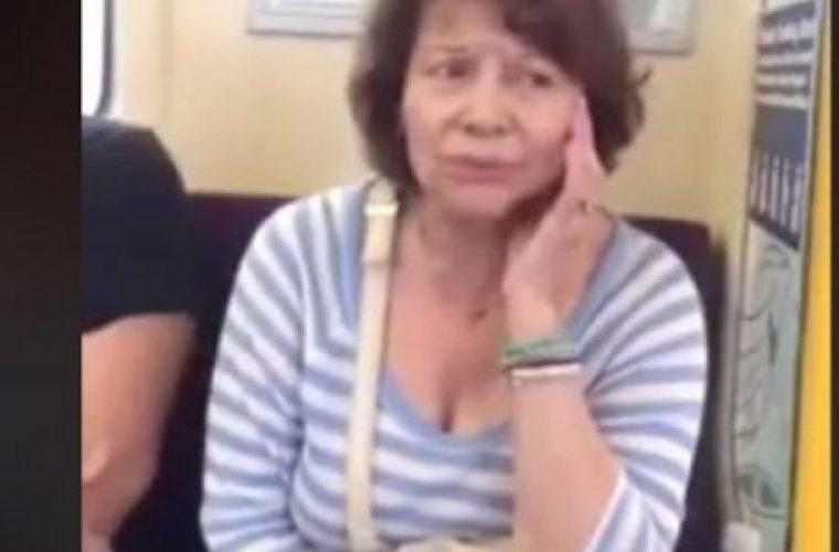 H Πίτσα Παπαδοπούλου τραγουδά μέσα στο μετρό παραγγελιά επιβάτη (vid)