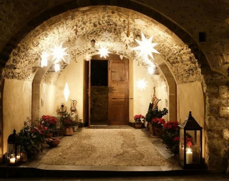 Τα Χριστούγεννα στη Μονεμβασιά είναι βγαλμένα από τα ωραιότερα παραμύθια