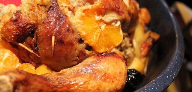 Εορταστικό κοτόπουλο 2 χριστουγεννιάτικες συνταγές!!!!!!