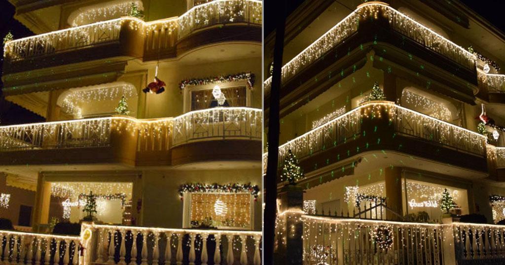 Το πιο εντυπωσιακό στολισμένο σπίτι στην Ελλάδα βρίσκεται και φέτος στην Κοζάνη