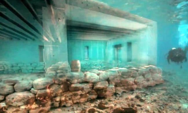 Η παλαιότερη βυθισμένη πόλη στον κόσμο βρίσκεται στην Ελλάδα