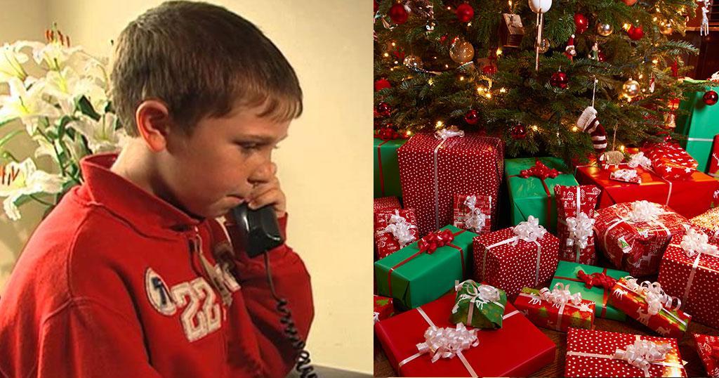 Ένας 9χρονος πήρε τηλέφωνο την αστυνομία γιατί δεν του άρεσαν τα χριστουγεννιάτικα δώρα του
