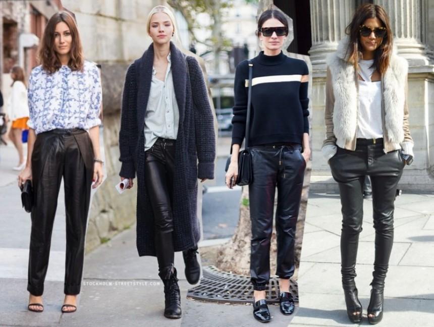 Tι να προσέχετε όταν φοράτε δερμάτινο κολάν ή παντελόνι