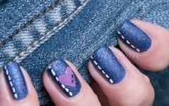 11 + 1 Ιδέες για νύχια με υπέροχη denim διάθεση