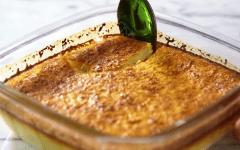 Πανεύκολο γλυκό φούρνου με καρύδα με 5 υλικά!