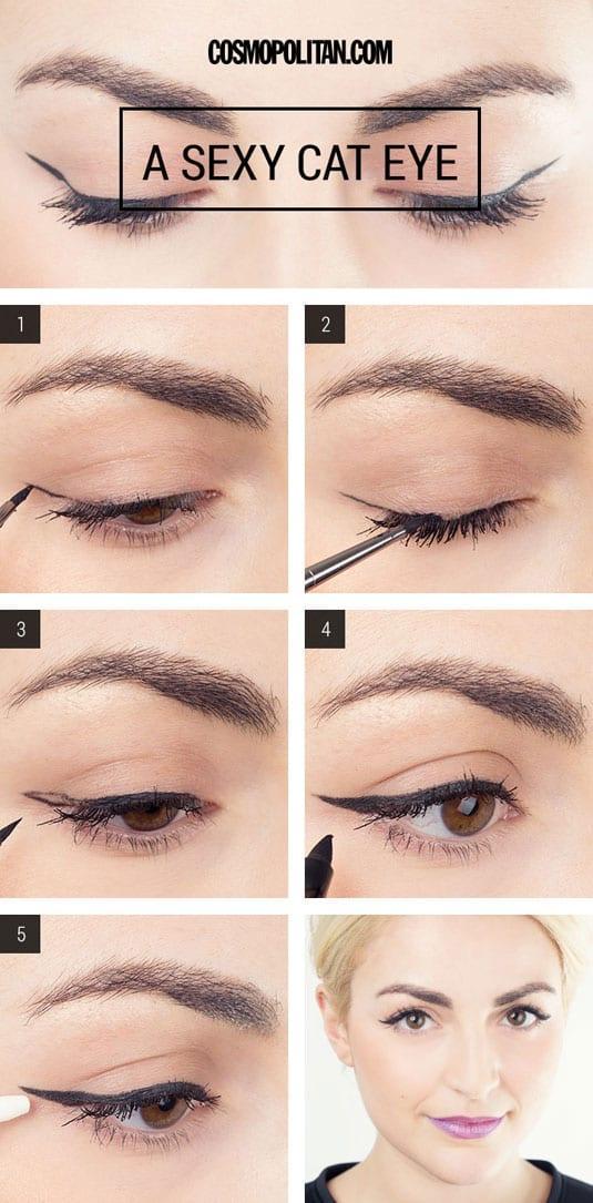 Οι 2 πιο HOT και εύκολοι τρόποι για να βάλεις το eyeliner