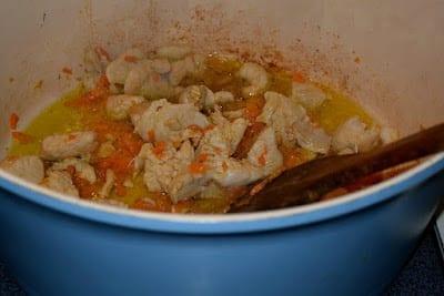 Τραχανάς σούπα με μπουκίτσες κοτόπουλο !!!