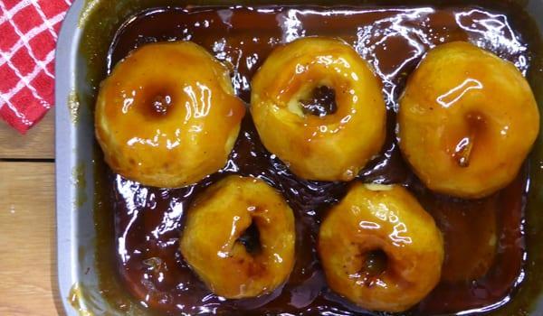 Νόστιμα ψητά Μήλα στο φούρνο..