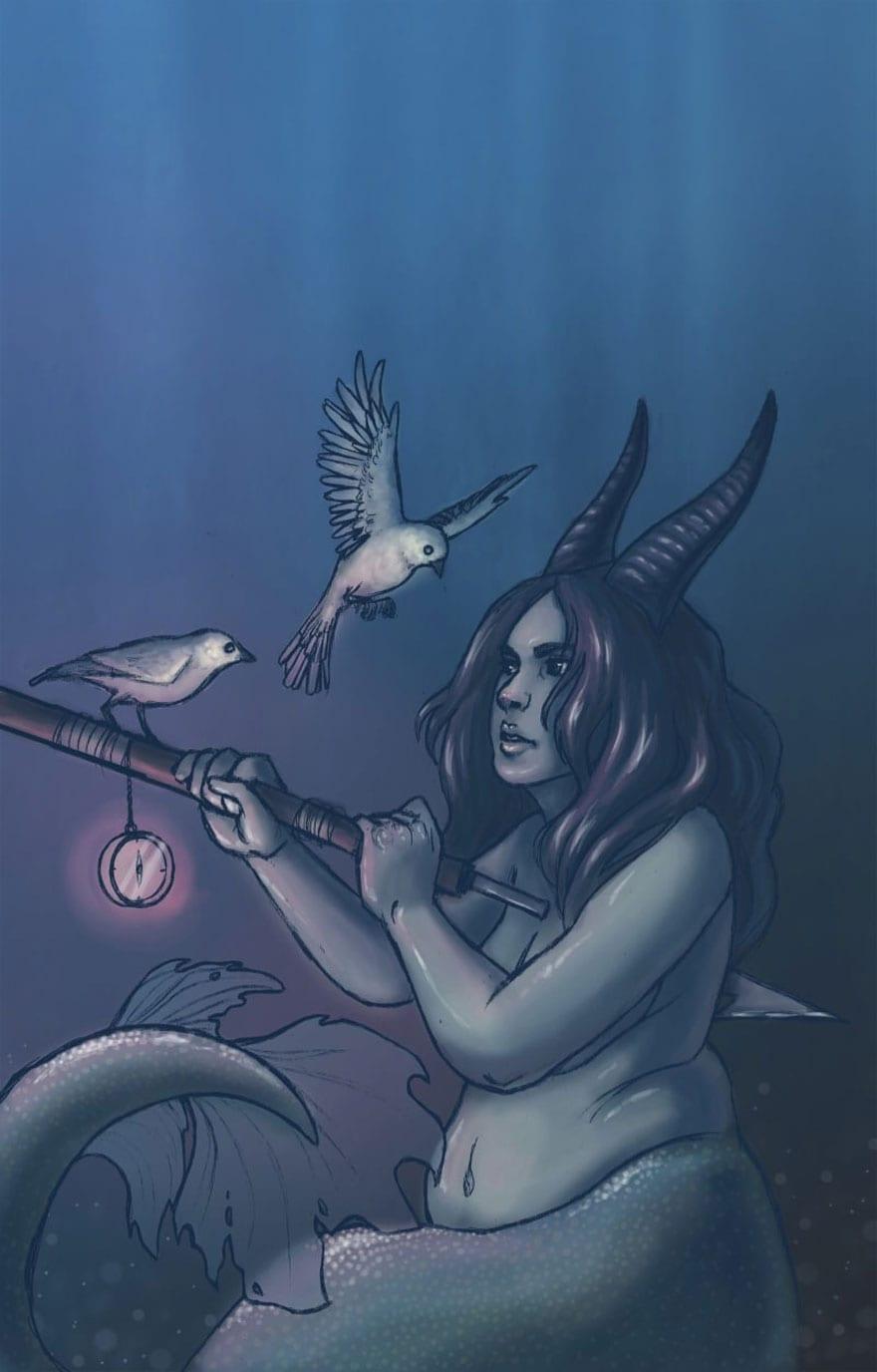 Μια εικονογράφος φαντάστηκε τα 12 ζώδια σαν γυναικείες θεότητες κι το αποτέλεσμα είναι υπέροχο