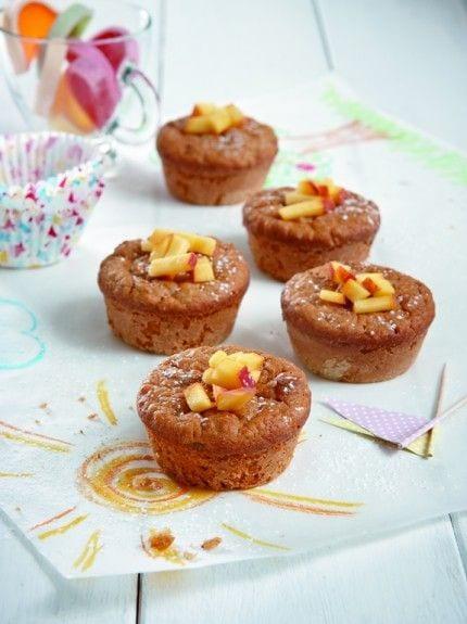Muffins με νιφάδες βρώμης και μήλα! Ιδανικό για παιδικο επιδορπιο!